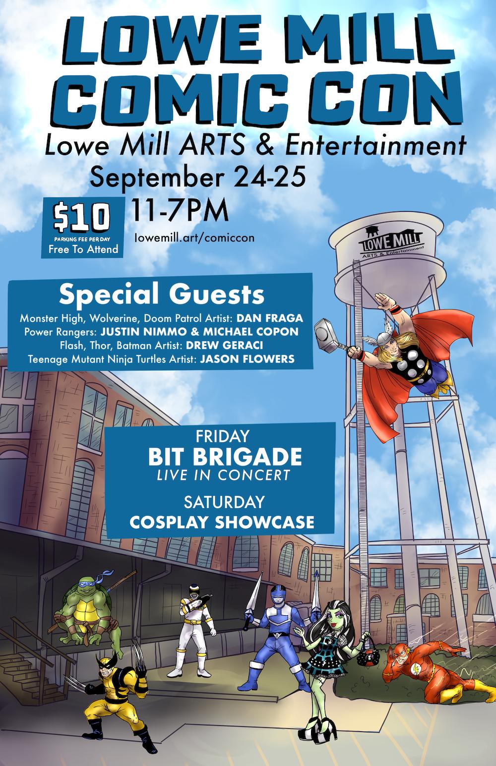 Lowe Mill Comic Con