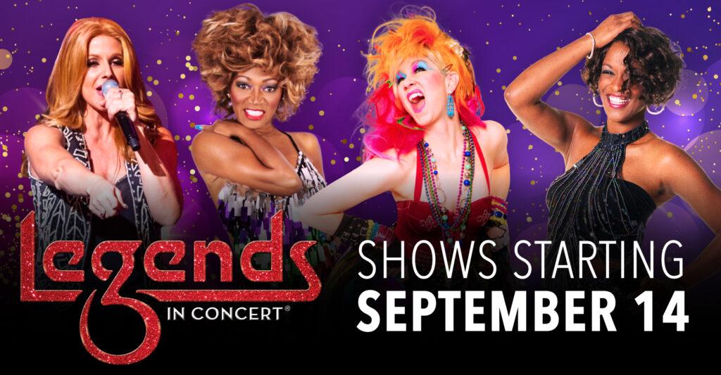Legends In Concert - Fall 2021 Lineup
