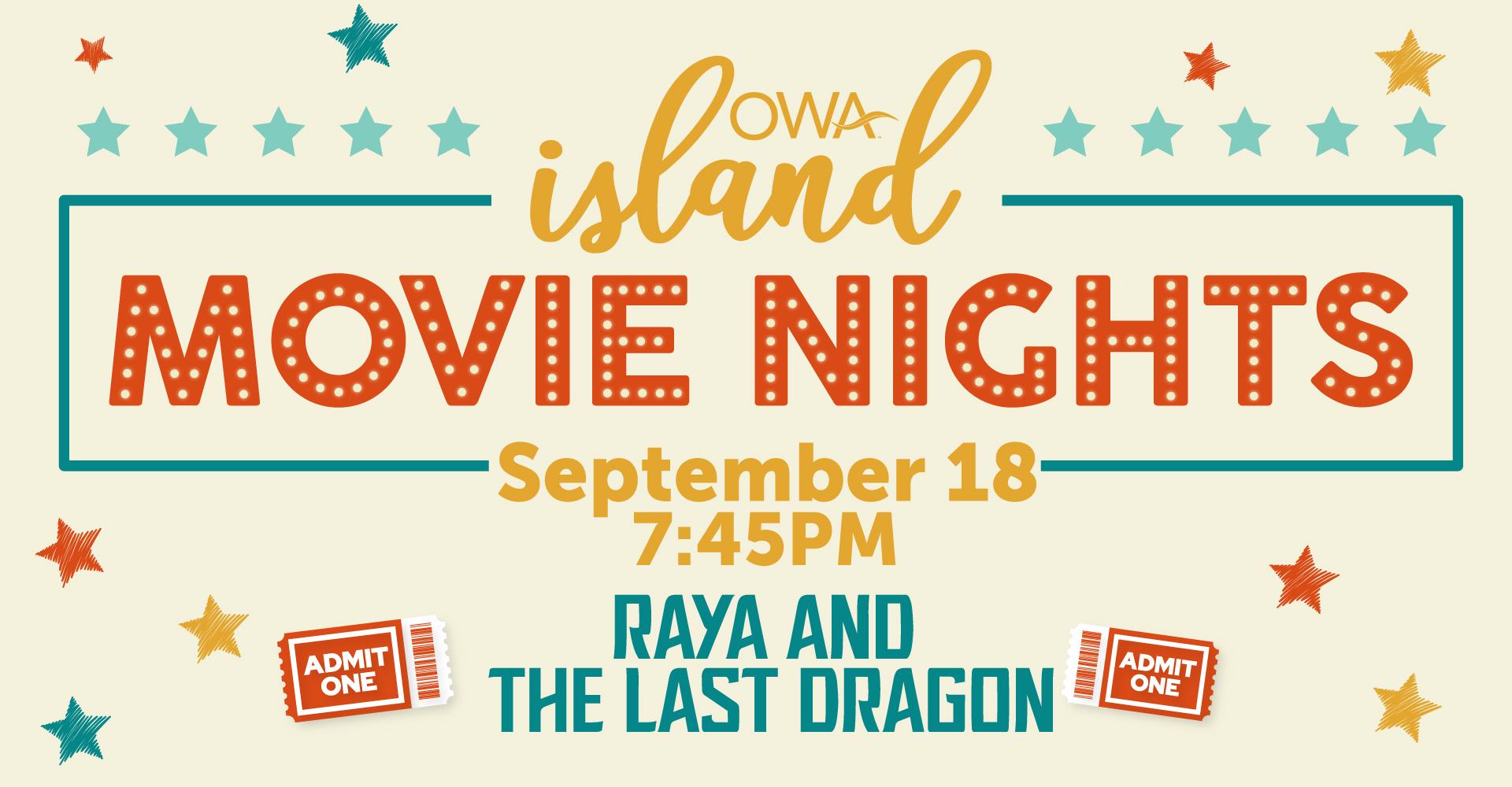 Island Movie Nights ft. Raya & The Last Dragon