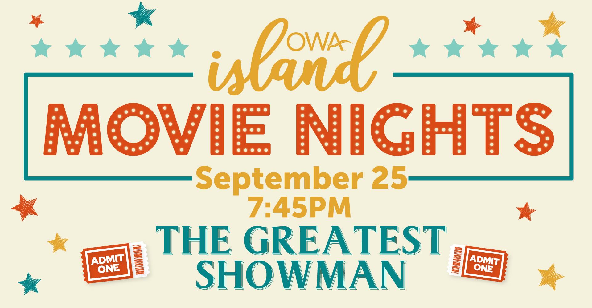 Island Movie Nights ft. The Greatest Showman
