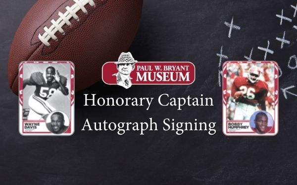Honorary Captain Autograph Signing