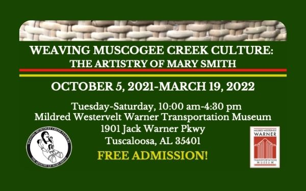Weaving Muscogee Creek Culture: The Artistry of Mary Smith