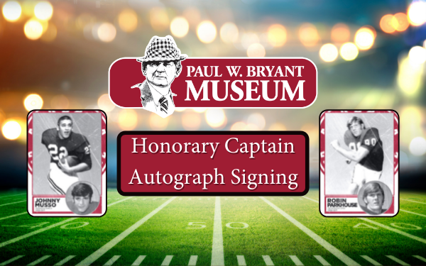 Honorary Captain Autograph Signing - Johnny Musso and Robin Parkhouse