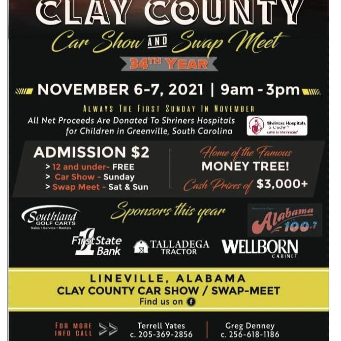 2021 Clay County Car Show & Swap Meet